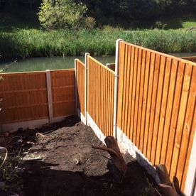 steep ground fencing