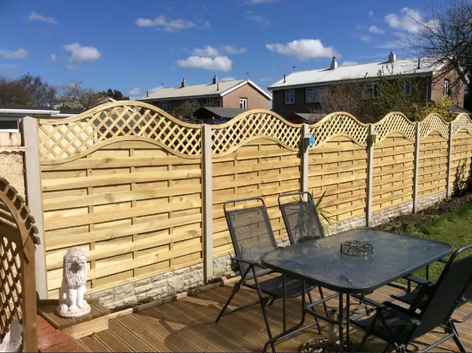 fitted fence