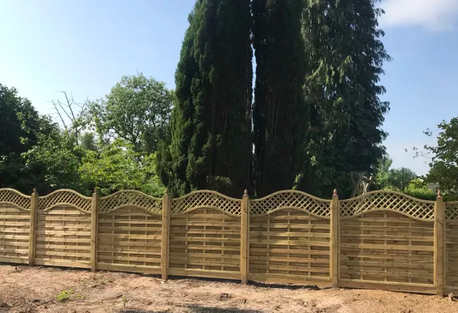 full height fencing